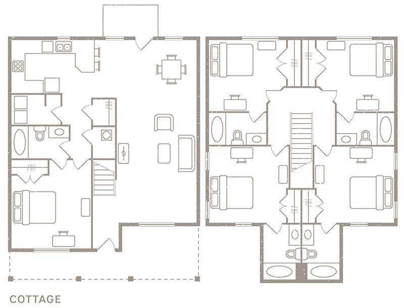 5 Bedroom & 5 Bath Floorplan - Redpoint Denton